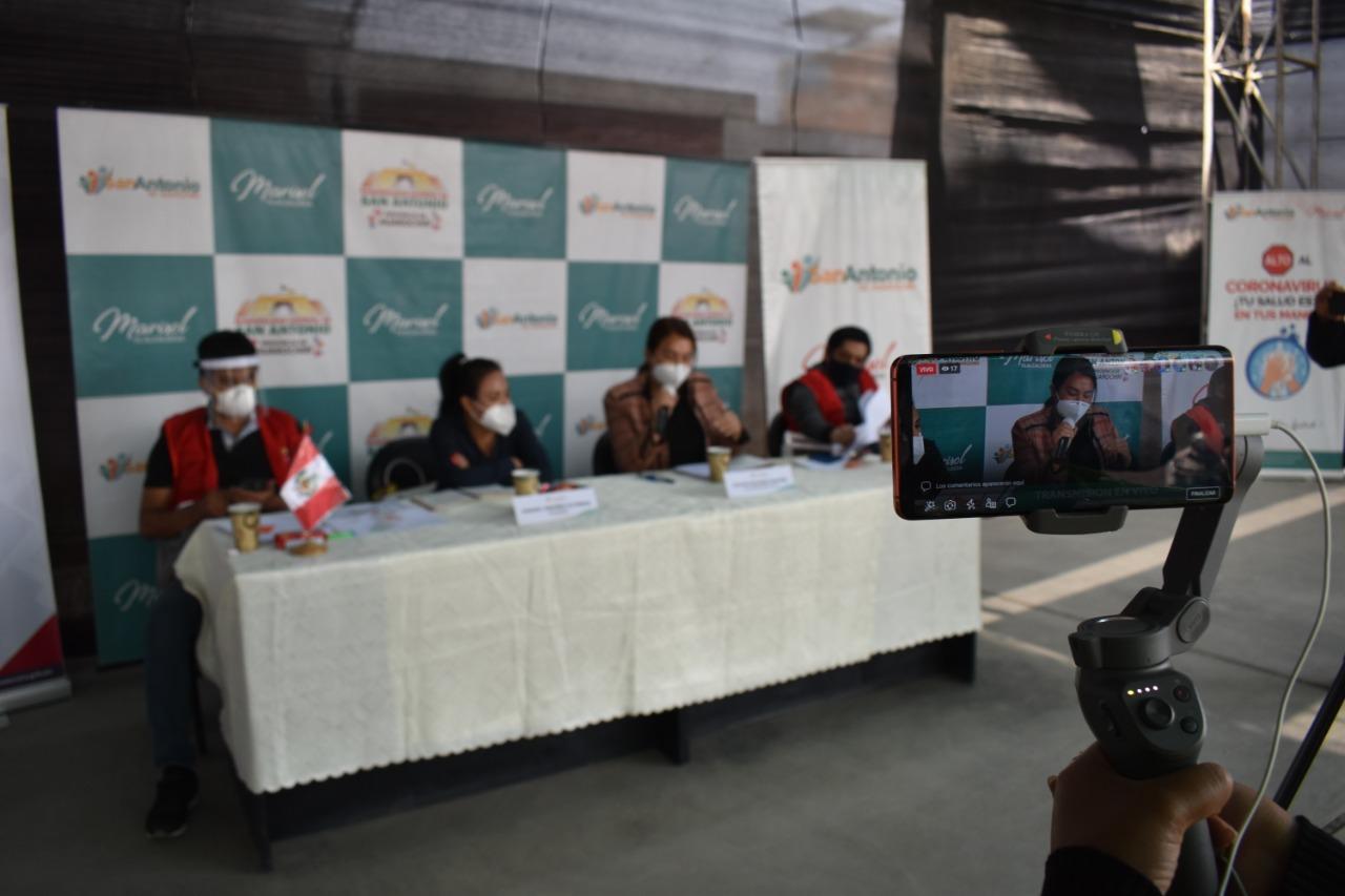 Se anuncia que sigue vigente el convenio entre COFOPRI y la provincia de Huarochirí